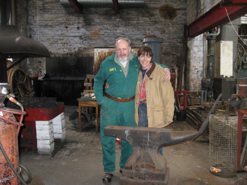 Blacksmith instruction and longlasting friendships